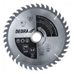 Tarcza do cięcia DEDRA H500100 500 x 30 mm do drewna