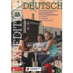Expedition Deutsch 2A Podręcznik z ćwiczeniami z płytą CD (opr. miękka)
