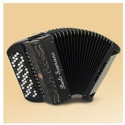 Paolo Soprani Internazionale 120 46(87)/4/11 120/5/5 Musette akordeon guzikowy (czarny) Płacąc przelewem przesyłka gratis!