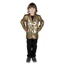 Marynarka Disco Złota 4-6 lat, kostium/ przebranie dla dzieci, odgrywanie ról