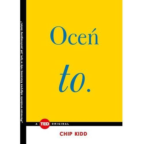 Oceń to - Chip Kidd (MOBI)