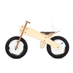 DipDap Rowerek dziecięcy bez pedałów drewniany różowy Darmowa wysyłka i zwroty