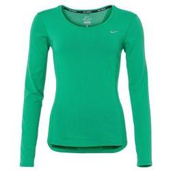 Nike Performance Bluzka z długim rękawem dark green/white