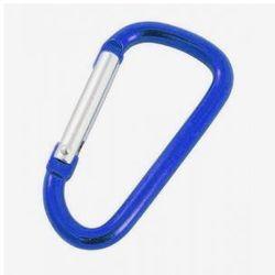 Karabinek do kluczy Rockland niebieski