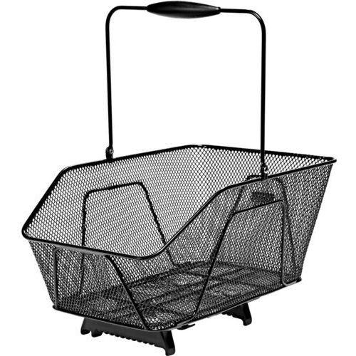 065c922d8e5e17 Unix Rosetto Koszyk rowerowy Klips górny, black 2019 Kosze na bagażnik