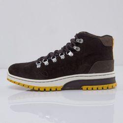 K1X buty zimowe H1ke Territory Classic Le dark brown / mustard (1000-0220/7210)