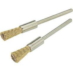 Zestaw 2 szczotek drucianych mosiężnych Proxxon Micromot 28 961, śr. uchwytu 8 mm
