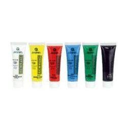 Farby akrylowe 6 kolorów w tubce 30 ml