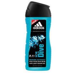 Adidas Ice Dive Żel pod prysznic 3 w 1 Refreshing 250 ml