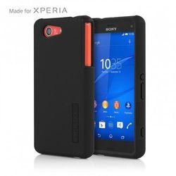 Obudowa Incipio SE-270-BLK - DualPro - Sony Xperia Z3 Compact - Czarna - Czarny/Czarny