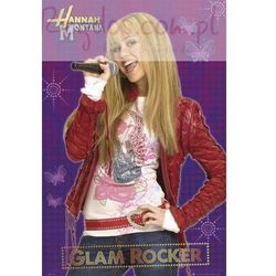 Miley Cyrus Hannah Montana glam rocker - plakat