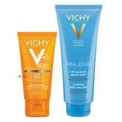 SET Vichy Ideal Soleil (U) SPF50 Bronze żel-fluid 50ml + After Sun mleczko po opalaniu 100ml