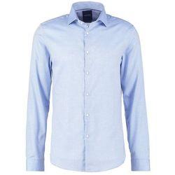 Burton Menswear London DOBBY SLIM FIT Koszula biznesowa blue