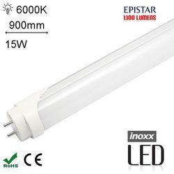 INOXX 90T8K6000 MI FS AL Świetlówka LED zimna 900mm G13 o mocy 15W 1300 lumenów 6000K
