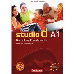 Studio d A1 Podręcznik z ćwiczeniami+Cd (opr. miękka)