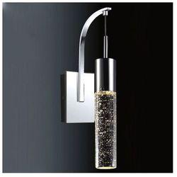 Kinkiet LAMPA ścienna XYLO 9740-1W IP20Italux halogenowa OPRAWA glamour bąbelki chrom przezroczysty