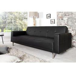 Sofa rozkładana Monako 215cm - czarny - wzór 3