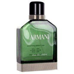 Giorgio Armani Eau de Cedre 50ml M Woda toaletowa
