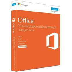 Microsoft Office Home & Business 2016 PL MLK P2 (T5D-02786) - pakiet biurowy dla użytkowników domowych i małych firm
