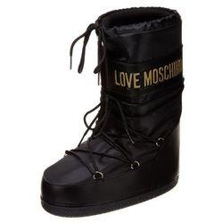 Love Moschino Śniegowce nero