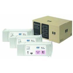 HP oryginalny ink C5071A, No.81, light magenta, 3x680ml, 3szt, HP DesignJet 5000, PS, UV, 5500, PS