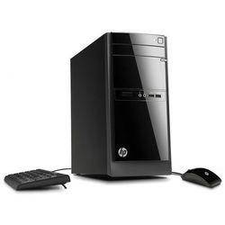 Komputer stacjonarny HP 110-210 A6-5200 8G 256GB SSD WIFI Win10 DVD-RW + klawiatura, mysz