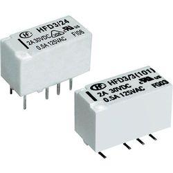 Przekaźnik subminiaturowy Hongfa HFD3/024-L2, bistabilny, 2-przełączny, maks. 2 A