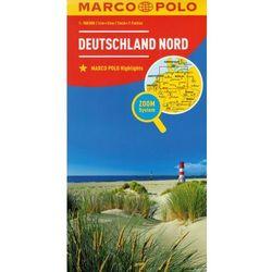 Marco Polo Mapa Samochodowa Niemcy Północ 1:500 000 Zoom