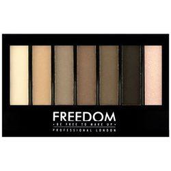 Freedom, Pro Shade & Brighten, Paleta do makijażu Mattes Kit, 1 szt. Darmowa dostawa do sklepów SMYK