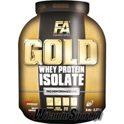 FITNESS AUTHORITY: GOLD WHEY PROTEIN ISOLATE 2270g