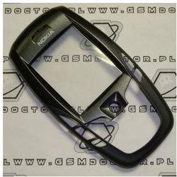 Obudowa Nokia 6600 przednia czarna
