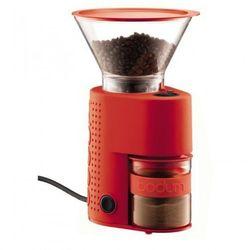 Bodum BISTRO Elektryczny młynek do kawy Czerwony