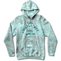 bluza GRIZZLY - Washed Up Hoodie Turquoise Tie-Dye (TQTY)
