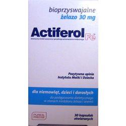 Actiferol fe 30 mg x 30 kaps