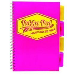 Kołozeszyt Pukka-Pad Project Book Neon 7298 B5/200k. kratka