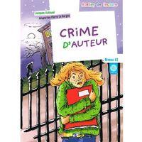 Crime d'Auteur + CD audio poziom A2 (opr. miękka)
