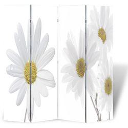 vidaXL Parawan/dzielnik pokojowy w kwiaty (160 x 180 cm) Darmowa wysyłka i zwroty