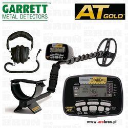 Wykrywacz metali metalu Garrett AT Gold + słuchawki