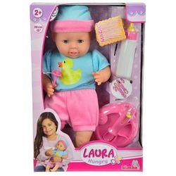Lalka Laura z zestawem do karmienia