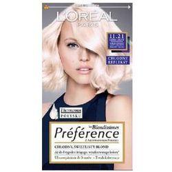 L'Oreal Paris Les Blondissimes Preference farba do wlosow 11.21 Bardzo Bardzo Jasny Chlodny Perlowy Blond