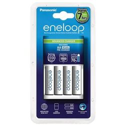 Ładowarka Panasonic Eneloop BQ-CC17 + 4 x R6 AA Eneloop 2000mAh- darmowy odbiór osobisty!