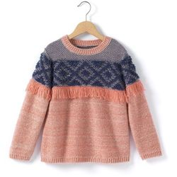 Sweter z fantazyjnej włóczki