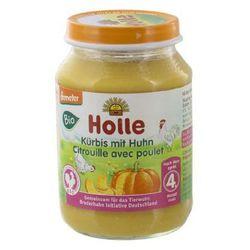 HOLLE Danie BIO dynia+mięso kurczaka po 4 miesiącu 190g