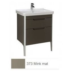 Zestaw łazienkowy szafka + umywalka Roca Unik 65 cm, mink mat, 2 szuflady A851047373