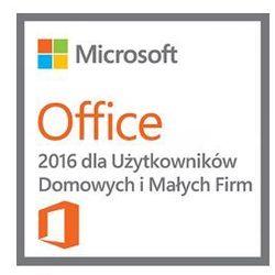 [T5D-02646-PL] Microsoft Office 2016 dla Użytkowników Domowych i Małych Firm PL DOEM (Home and Business)