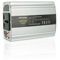 PRZETWORNICA SAMOCHODOWA DC 12V-AC 230V 350W Z USB - 06579