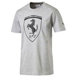 Koszulka Puma Ferrari Big Shield Tee light gray 2016