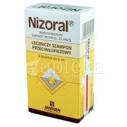 Nizoral szampon przeciwłupieżowy 6 ml 1 saszetka