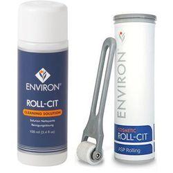 Environ - Roll-Cit + Cleaning Solution - Wałek kosmetyczny do mikronakłuwania twarzy, Roll-Cit + Płyn dezynfekujący - 1 szt+ 100 ml - DOSTAWA GRATIS! Kupując ten produkt otrzymujesz darmową dostawę !