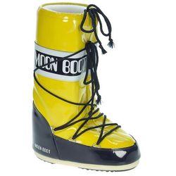 buty Tecnica Moon Boot Vinil - Yellow/Night Blue